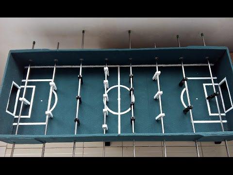 Как сделать настольный футбол своими руками? / How To Make A Table Football?