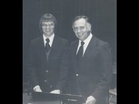Central State University Band Concert May 11, 1971 -- Steve Clark, solo clarinetist