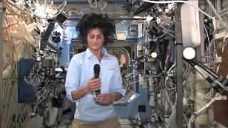 Space Station Crew Member Discusses Life in Space with Media Representative