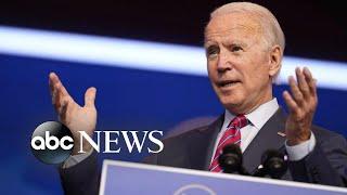 Biden urges Democrats and Republicans to back new COVID-19 relief bill   WNT