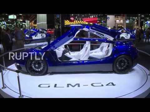 France: New GLM G4 electric supercar unveiled at Paris Motor Show