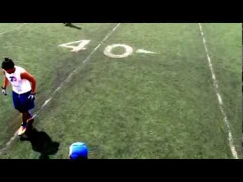 DB drills - Backpedal & breaks