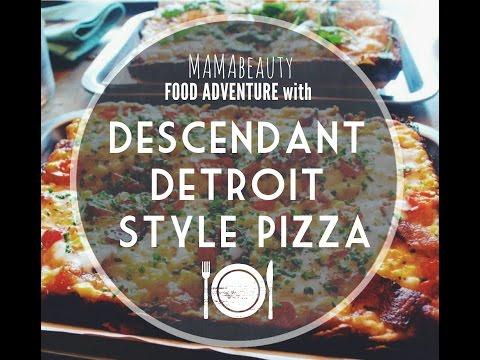 MAMA Food Adventure | Descendant Detroit Style Pizza