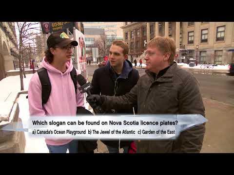 A Very Canadian Quiz: Nova Scotia Licence Plates