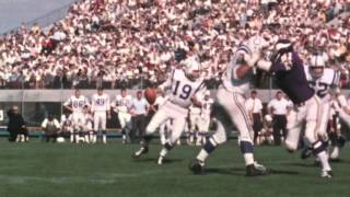 Johnny Unitas Breaks Career Passing TD Record (Sept. 18, 1966) | This Day in NFL History