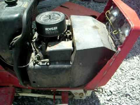 Kohler Kt17 Kt 17 Engine Running Cub Cadet 782 Deere Youtube