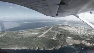 KEEDO의 괌여행 하늘 경비행기 안 촬영영상 #고프로…