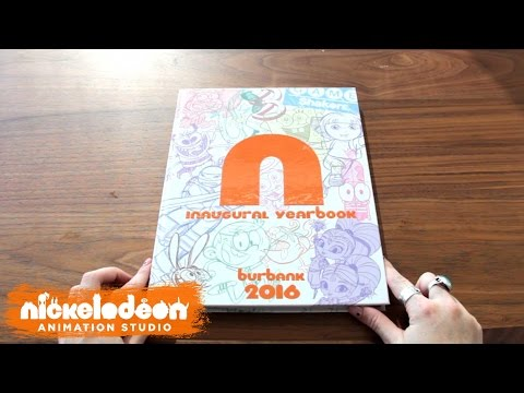2017 Yearbook | Nick Swag | Nickelodeon Animation Studio