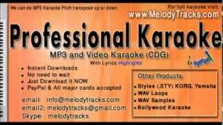 Adhi adhi raat Bilal Saeed Karaoke - www.MelodyTracks.com