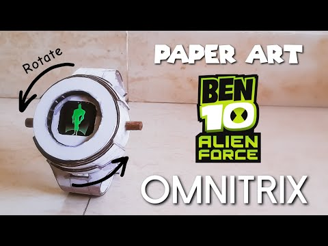 How To Make Your Own BEN 10 Alien Force OMNITRIX | PART 2