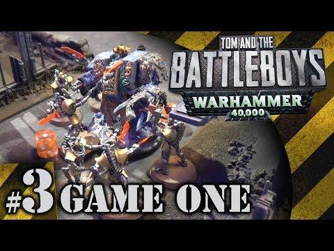 BATTLEBOYS  Warhammer 40K Game One #3  The Five Lascannon Fist