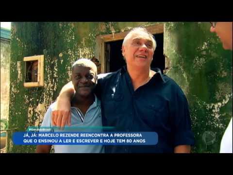 Marcelo Rezende relembra o passado vivido com o irmão adotivo