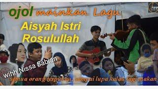 Download lagu Ojol Prank, mainkan lagu Aisya Istri rosulullah, pengunjung restoran sampai lupa kalau lagi makan.