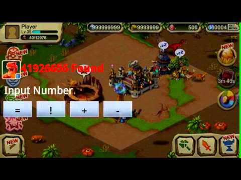 Dinosaur war android game cheat (full exp grass stone gems,+)