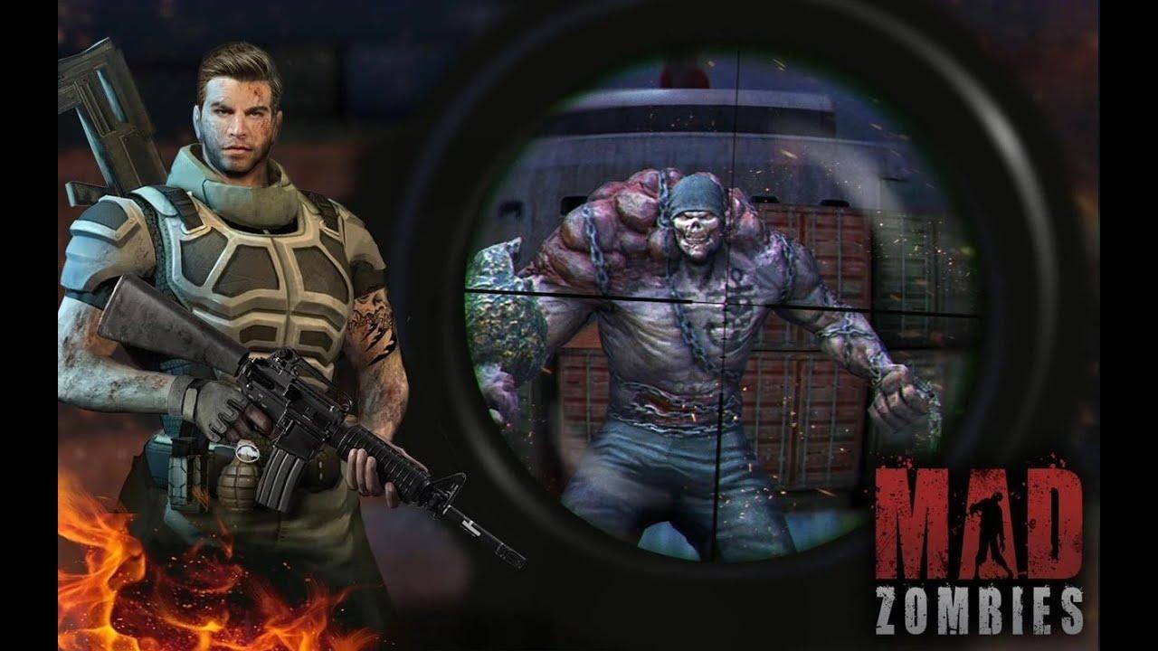 Mad Zombies Game bắn súng Zombie cho di động, chơi và cảm nhận.