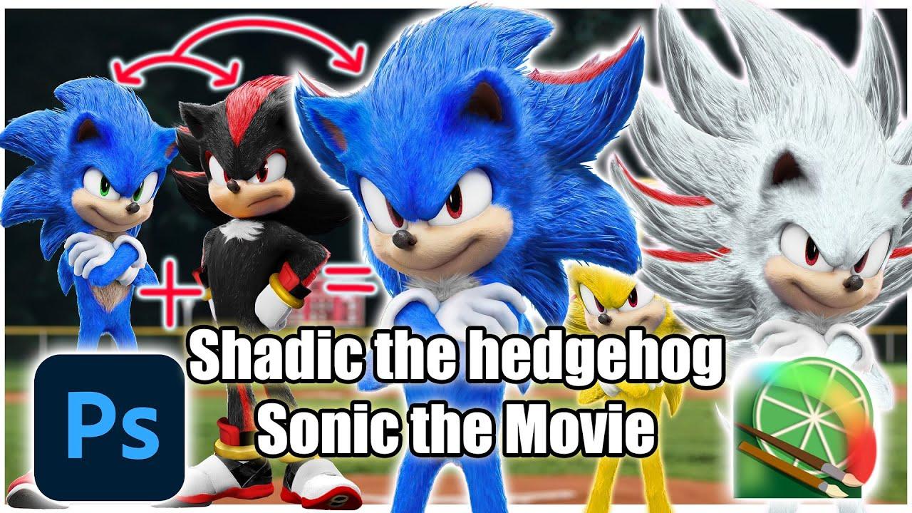 [Speed Edit] Shadic the Hedgehog - Sonic the Movie