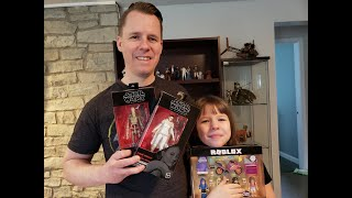 Episode 3 - TOY HUNTING WITH TORI AT WALMART, TARTGET, AND GAMESTOP. BLACK SERIES AND ROBLOX