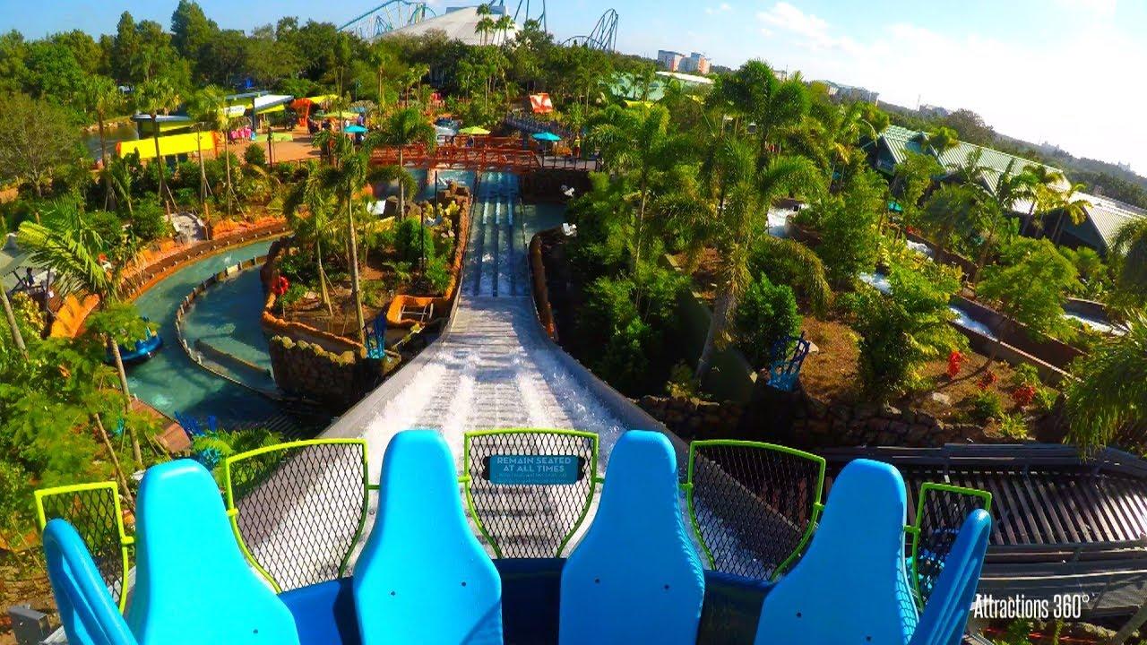 SoCal Attractions 360 – SeaWorld Orlando Infinity Falls