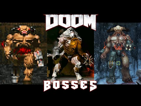 All Bosses Of DOOM (1993 - 2020)