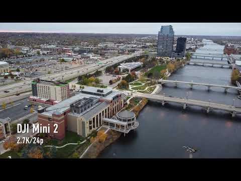 DJI Mavic Mini 2 sample footage (4K, 2.7K, 1080p, zoom)