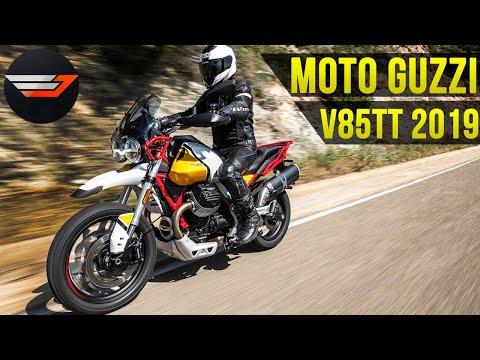 Странный, необычный, особенный.  Moto Guzzi V85TT 2019 Тест от Jet00CBR