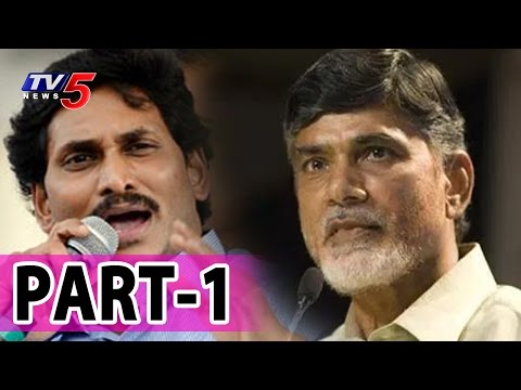 AP CM Chandrababu Criticizing YS Jagan, A Financial Criminal | News Scan #1 | TV5 News