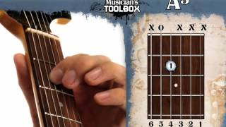 how to play the a power chord on guitar a5