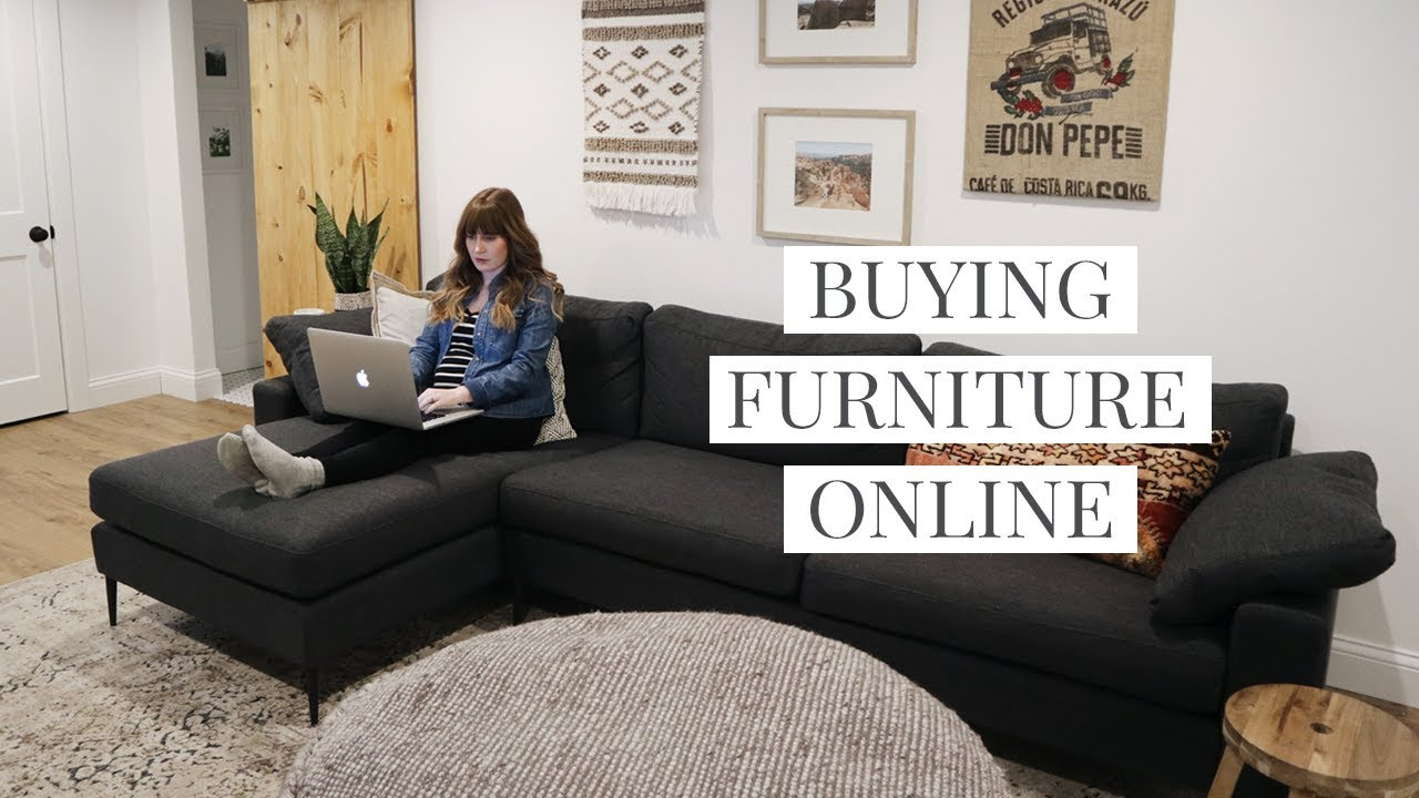 Tips For Buying Furniture Online Article Nova Sectional Review