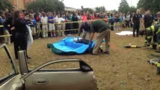 Drunk Driving Simulation at Sullivan Middle School