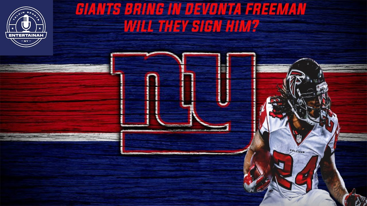 RB Devonta Freeman Visits Giants