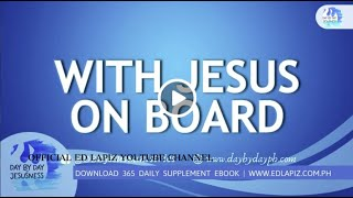 Ed Lapiz - With Jesus On Board /Latest Sermon Review New Video (Official Channel 2020)