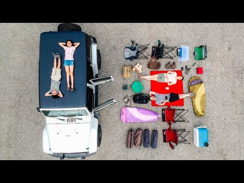 CAMPING Equipment 2019 - Our Setup