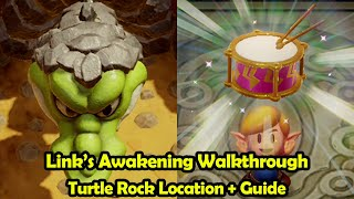Turtle Rock Location + Walkthrough - The Legend of Zelda Link's Awakening (Switch)