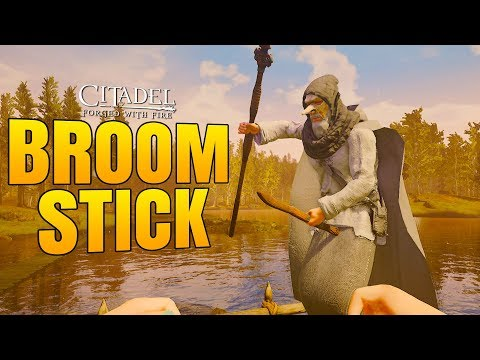 FLYING BROOMSTICK!! - Citadel: Forged with Fire Gameplay #4