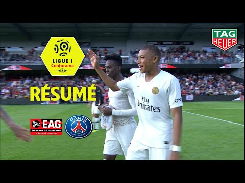 EA Guingamp - Paris Saint-Germain ( 1-3 ) - Résumé - (EAG - PARIS) / 2018-19