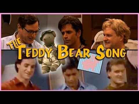 Full House Then And Now | The Teddy Bear Song