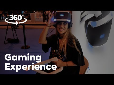 MADRID GAMING EXPERIENCE 2017 en 360º