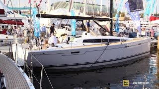 2015 Dehler 38 Sailing Yacht - Deck and Interior Walkaround - 2015 Annapolis Sail Boat Show