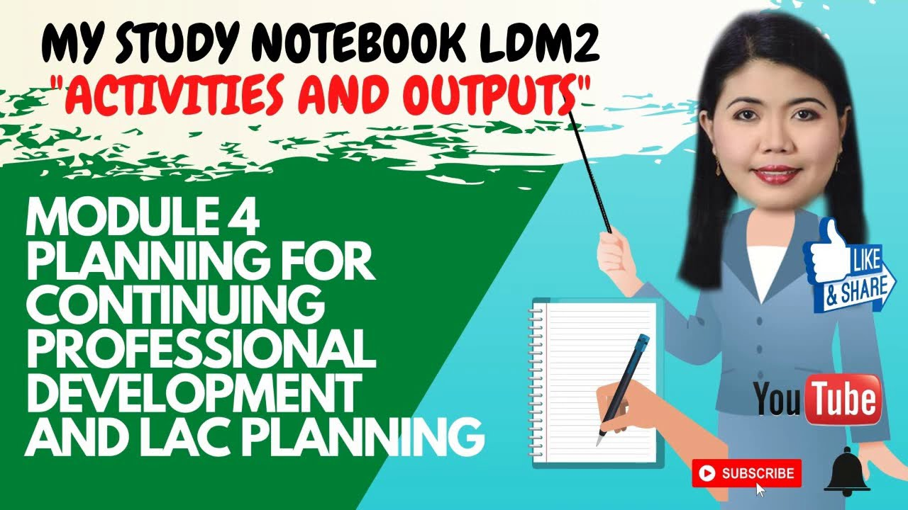 Download MODULE 4 PLANNING FOR CONTINUING PROFESSIONAL DEVELOPMENT AND LAC PLANNING