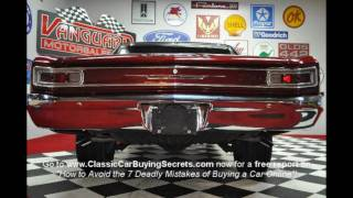 1966 Chevy Malibu 396 Big Block Classic Muscle Car for Sale in MI Vanguard Motor Sales
