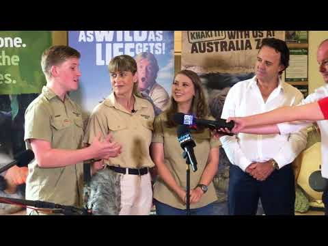 Steve Irwin Awarded Hollywood Star