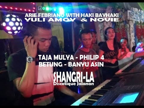 Dj Arie Febriano - Discotique Jalanan SHANGRILA  At Taja Mulya BETUNG  BANYU ASIN