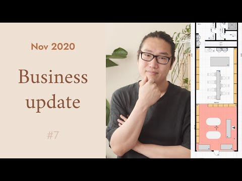 SIGNED THE LEASE ON RETAIL & STUDIO SPACE // Business Update # 7 // November 2020
