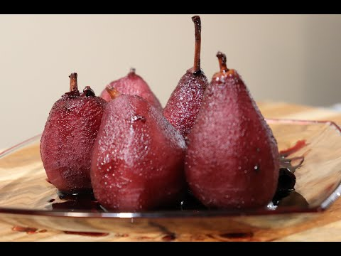 Drunk Pears. Pears in Wine. Delicious Dessert from YouTube · Duration:  3 minutes 9 seconds