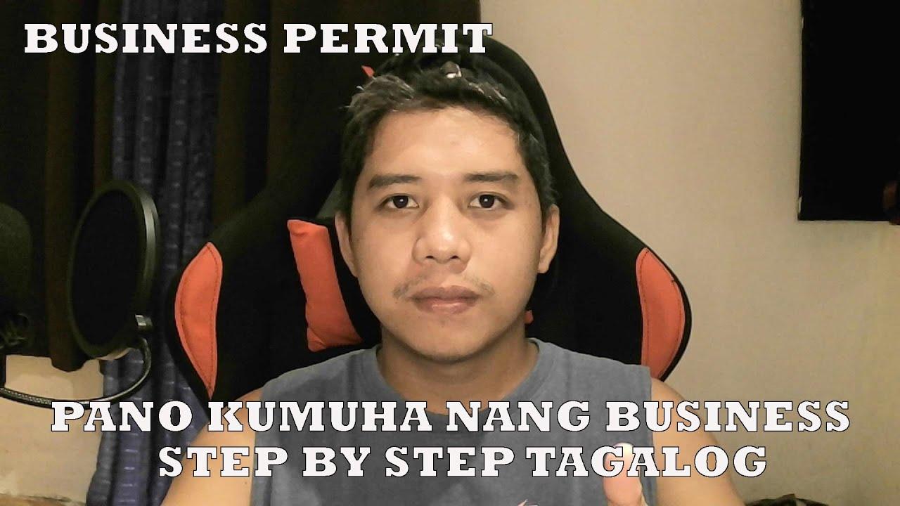 Paano Makapag Apply Nang Business Permit Step by Step Tagalog