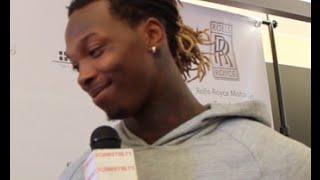 MARTAVIS BRYANT of the Pittsburgh Steelers Interview on Favorite Athlete, Family & More