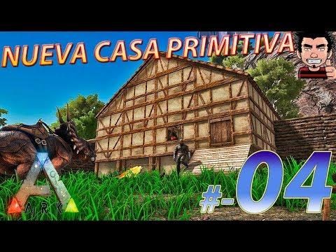 ARK SURVIVAL EVOLVED PRIMITIVE PLUS SERIE NUEVO HOGAR CONSTRUCCION CASA DE LUMMBER GAMEPLAY ESPAÑOL