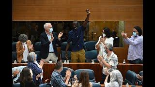 El diputado mantero de Podemos tacha de racista a Monasterio