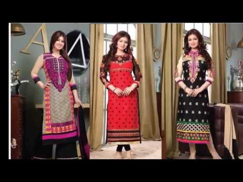 Pakistani Salwar Kameez Designs Latest Collection | latest fashion collection by indian designers