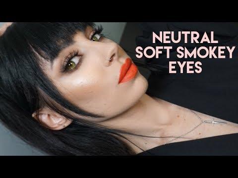 Neutral Soft Smokey Eyes thumbnail